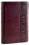 ESV Personal Size Reference Bible (Trutone, Mahogany, Trellis Design)