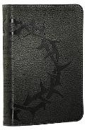 ESV Personal Size Reference Bible (TruTone, Charcoal, Crown Design)