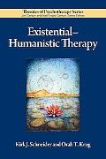 Existential-Humanistic Therapy (Theories of Psychotherapy)