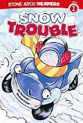 Snow Trouble (Truck Buddies; Stone Arch Readers Level 1)
