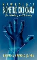 Newbold's Biometric Dictionary: For Military and Industry