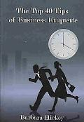 Top 40 Tips of Business Etiquette