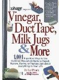 Vinegar Duct Tape Milk Jugs and More