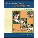 Early Childhood Experiences in Language Arts: Early Literacy [With Supplement]