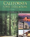 California Civil Litigation - With Std. Guide