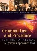 Criminal Law and Procedure for the Paralegal