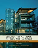 Construction Materials, Methods and Techniques: Building for a Sustainable Future (Go Green ...
