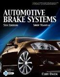 Today's Technician: Automotive Brake Systems, Shop Manual