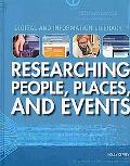 Researching People, Places, and Events (Digital and Information Literacy)
