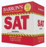 Barron's SAT Flash Cards, 2nd Edition (Leader in Test Preparation)
