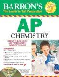 Barron's AP Chemistry with CD-ROM, 6th Edition (Barron's AP Chemistry (W/CD))