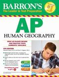Barron's AP Human Geography with CD-ROM, 5th Edition