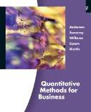 Bundle: Quantitative Methods for Business (with Printed Acess Card and Crystal Ball Pro Prin...