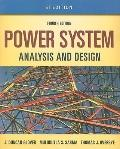 Si - Power System Analysis and Design