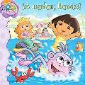 Swim, Boots, Swim! (Dora La Exploradora/Dora the Explorer) (Spanish Edition)