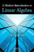 Modern Introduction to Linear Algebra