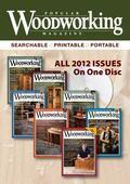 2012 Popular Woodworking Magazine
