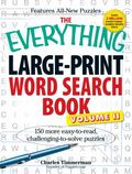 Everything Large-Print Word Search Book : 150 more easy to read, challenging to solve Puzzles
