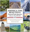National Parks Commemorative Quarters Collector's Map 2010-2021 (Coin Collecting, Numismatic...