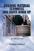 Building Material Estimates And Rates Build Up