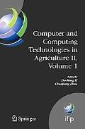 Computer and Computing Technologies in Agriculture II, Volume 1: The Second IFIP Internation...