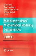 Modeling Students' Mathematical Modeling Competencies: ICTMA 13