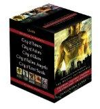 The Mortal Instruments: City of Bones; City of Ashes; City of Glass; City of Fallen Angels; ...