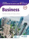 Cambridge International AS & A Level Business (Contains CD-ROM)