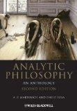 Analytic Philosophy: An Anthology (Blackwell Philosophy Anthologies)