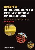 Barry's Introduction to Construction of Buildings and Advanced Construction of Buildings Bundle