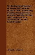 Badminton Magazine of Sports and Pastimes - October 1906 - Containing Chapters On : Sportsme...