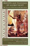 Precepts and Teachings of Ancient Egypt