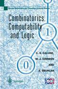 Combinatorics, Computability and Logic