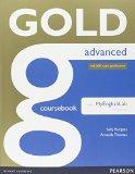 Gold Advanced Coursebook with MyLab Pack