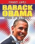 Barack Obama: President for Change (Famous Lives)