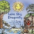 Lake, Sky, Dragonfly