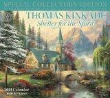 Thomas Kinkade Special Collector's Edition with Scripture 2014 Deluxe Wall Calen: Shelter fo...