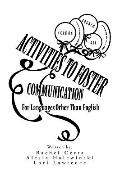 Activities to Foster Communication : For Languages Other Than English