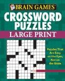 Brain Games: Crossword Puzzles (Large Print)
