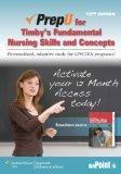PrepU for Timby's Fundamental Nursing Skills and Concepts
