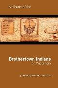 History of the Brothertown Indians of Wisconsin