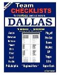 Team Checklists for Football Card Collectors DALLAS