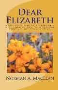 Dear Elizabeth : A father's letter to his daughter about men, women, marriage and creating l...