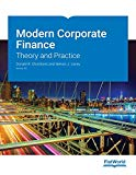 Modern Corporate Finance: Theory and Practice v8.0
