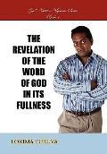 Revelation of the Word of God in Its Fullness