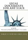 Legal documents for any state: Legal forms, Legal documents, Legal forms packages (Volume 3)