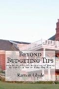 Beyond Budgeting Tips : How to Use Flexible Budgeting of Money to Stay on a Family Budgeting...
