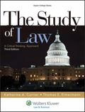 The Study of Law: A Critical Thinking Approach, Third Edition (Aspen College)