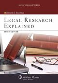 Legal Research Explained 3e