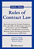 Rules of Contract Law Statutory Supplement (Supplements)